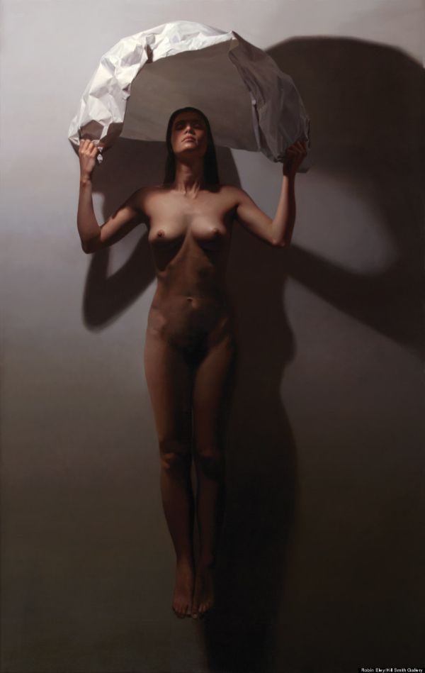 Robin Eley nude female portrait