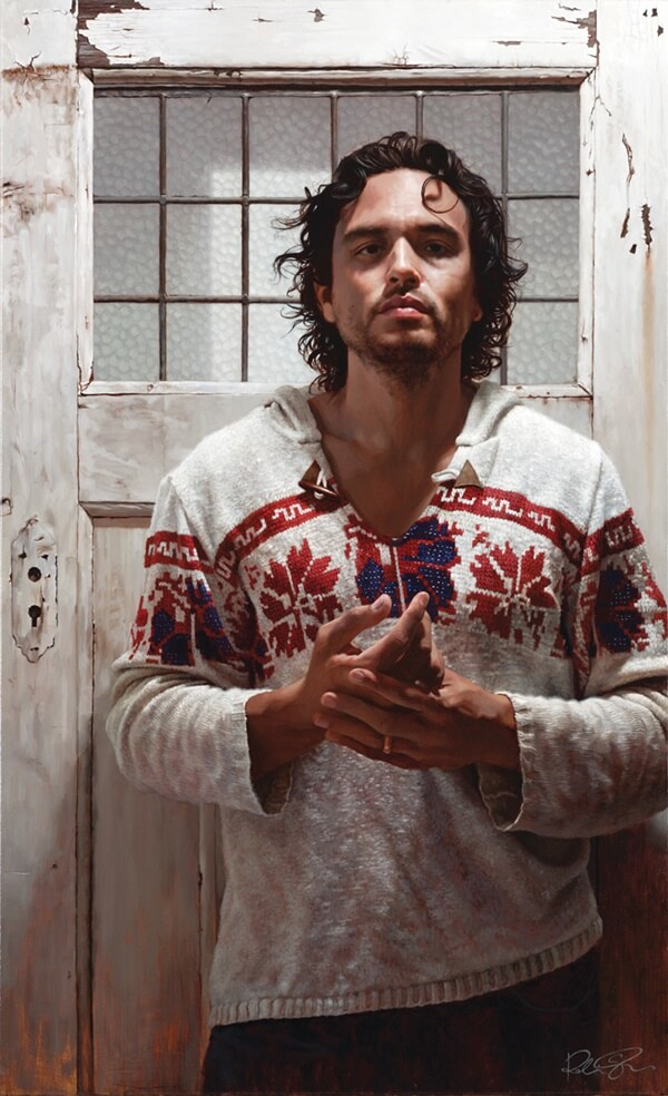 Robin Eley photorealistic figurative painting