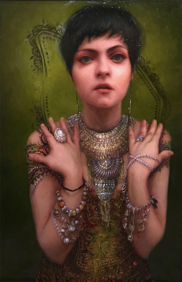 Anastasiya Chybireva - Proverb realistic portrait painting