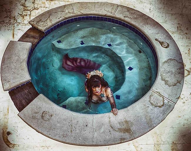 Darkwood surreal mermaid photography