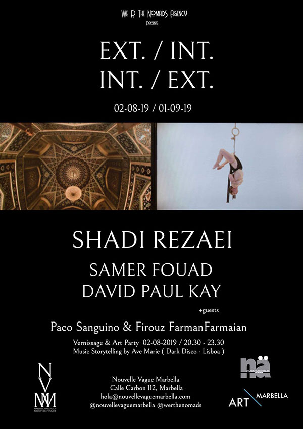 EXT./INT. INT./EXT. Marbella show at NVM gallery poster