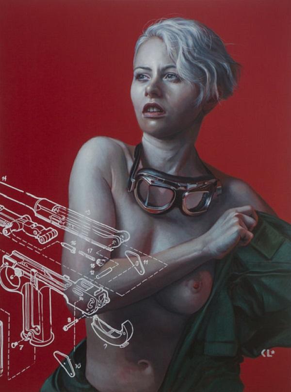 nude portrait art