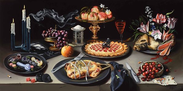 contemporary still life paintings