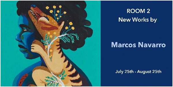 Marcos Navarro exhibition Talon Gallery
