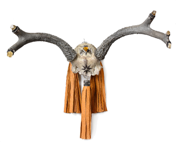 Morgaine Faye reliquaries skull horns