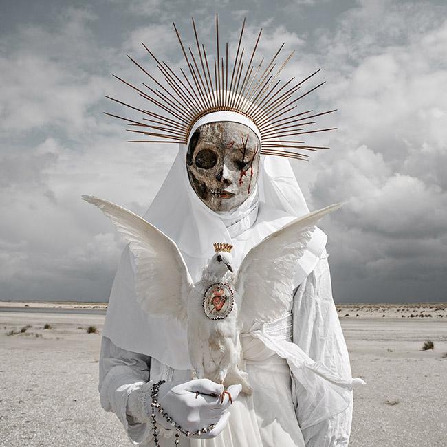 Mothmeister dark surreal skull photography