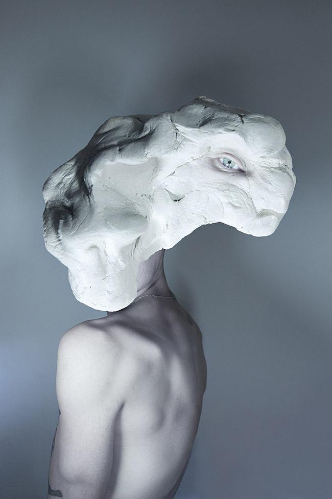 Pablo Sola surreal sculpture portrait photography