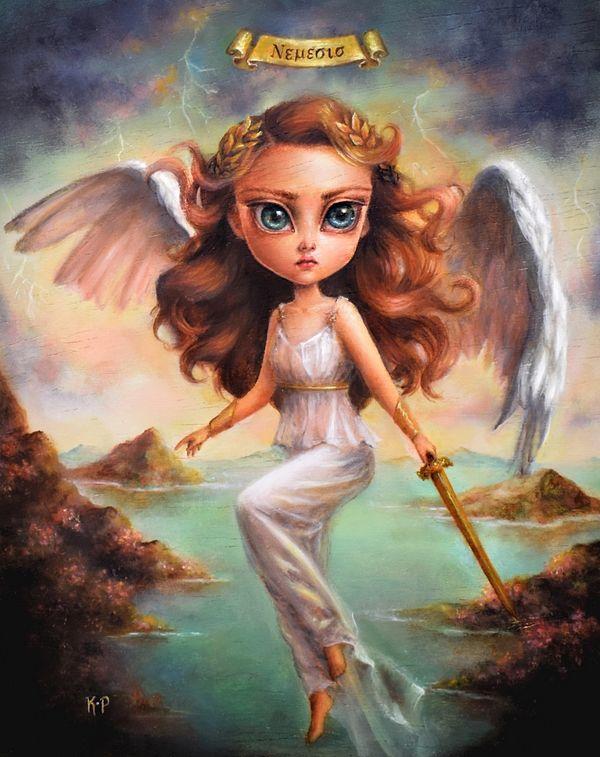 surreal angel
