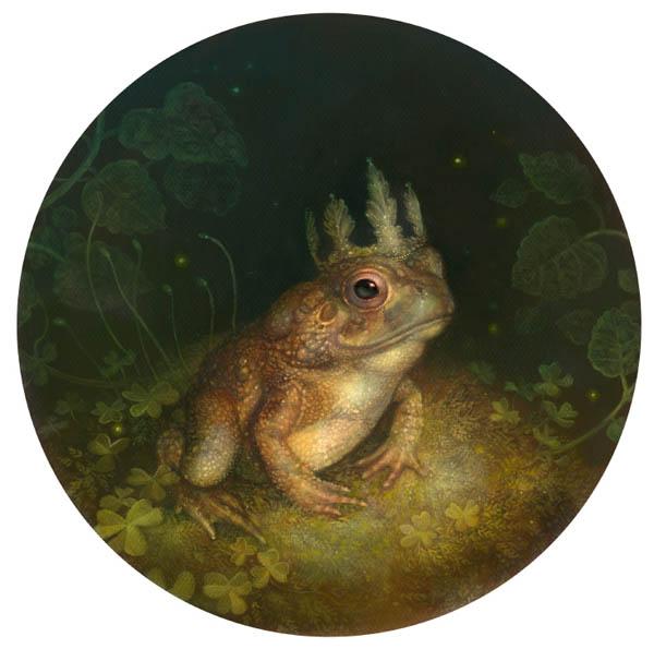 Annie Stegg Gerard - frog artwork