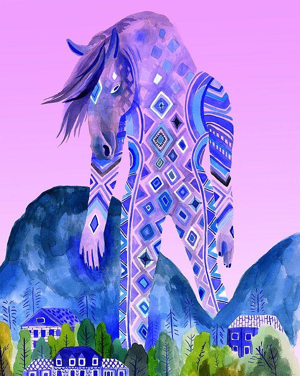 Lisa Hanawalt surrealistic illustration