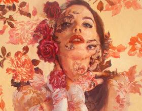 Sergio Lopez nude portrait painting