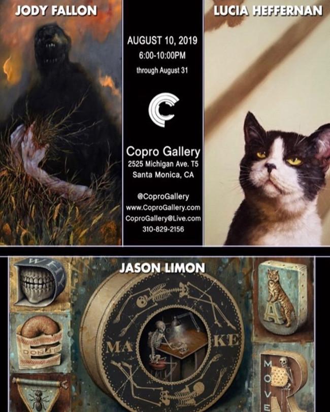 Copro Gallery advert Jason Limon Lucia Heffernan Jody Fallon