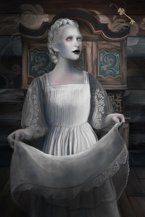 Juliana Loomer the golden key digital painting