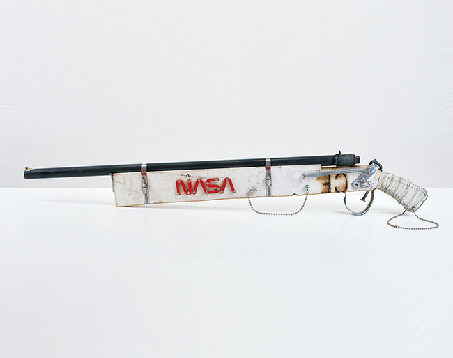 TOM SACHS nasa gun sculpture and design