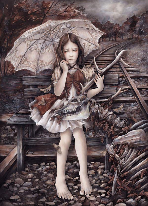 """Yuriko Shirou, """"The Dark Room"""" Agonía II (Agony II)"""