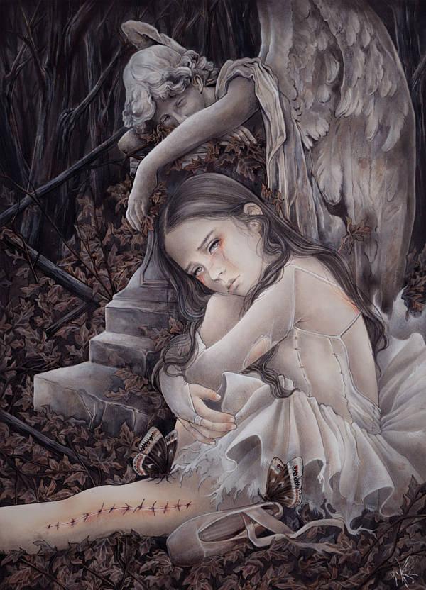 Yuriko Shirou ballerina Sueños rotos (Broken dreams)