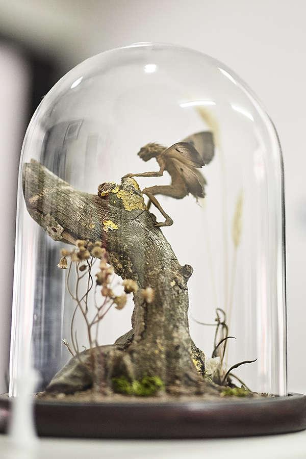 fairie sculpture artist Nickas Serpentarius