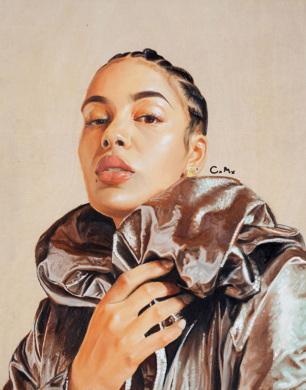 Carlo Miranda Jorja Smith painting