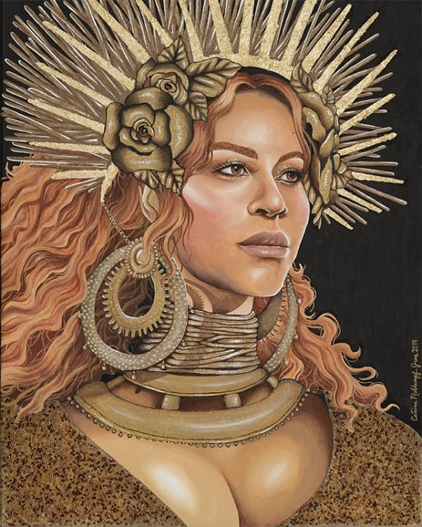 Catrina Holdampf Beyoncé painting