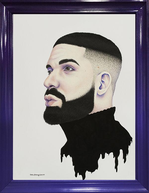 Catrina Holdampf Drake portrait painting