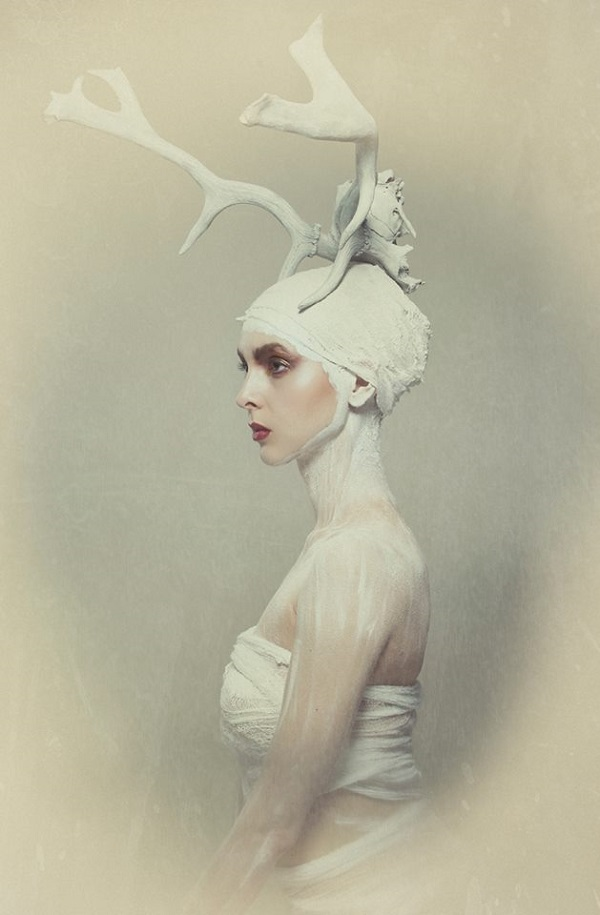 Lori Cicchini surreal bones portrait photography