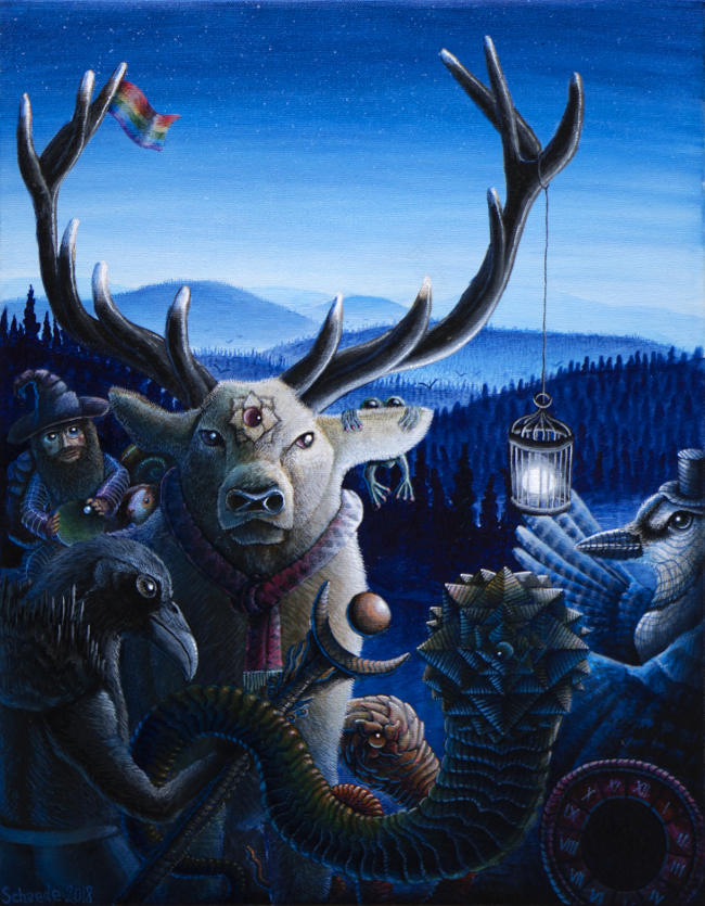 Ricky Schaede reindeer animals