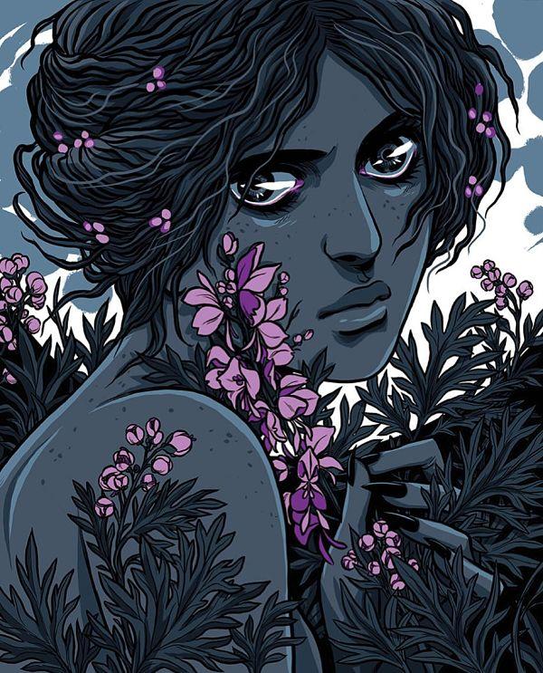 Teresa Sharpe take over Becky Cloonan digital art