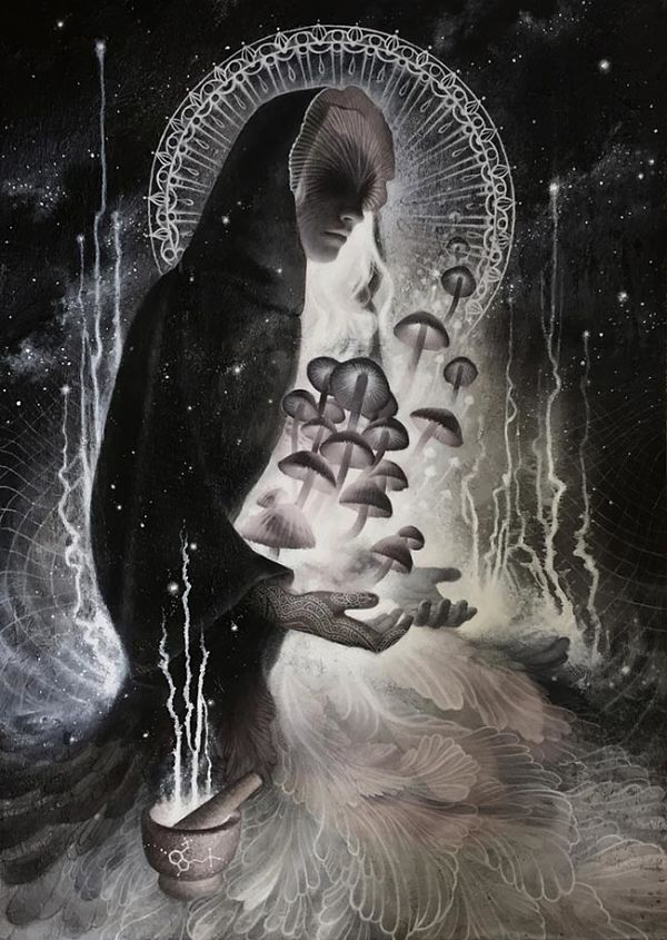Teresa Sharpe take over Heather McLean dark art