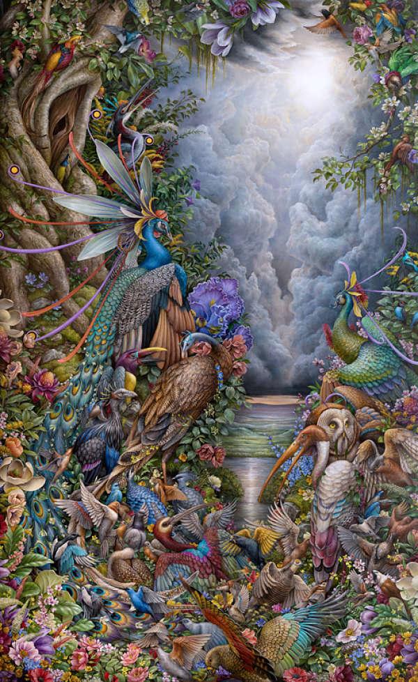 Hannah Yata animal painting