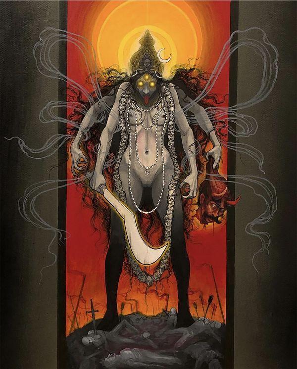 Teresa Sharpe take over Steve Moore Shiva illustration
