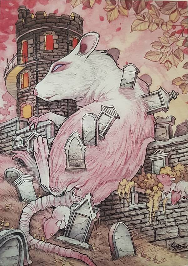 Teresa Sharpe take over Tom Strom rat illustration