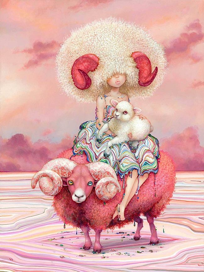 Camilla d'Errico surreal pink painting - What are the Top 5 Do's and Don'ts for Artists Working with Galleries?