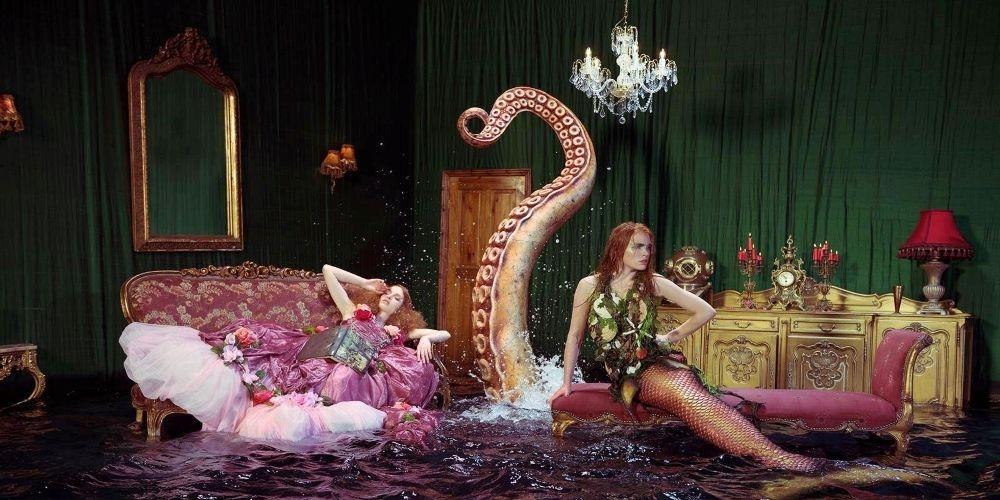 Miss Aniela Natalie Lennard Woman Mermaid Photograph
