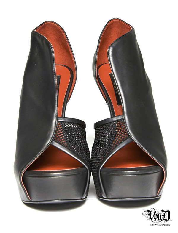 Kat Von D Von D Shoes fetish vegan echo heels