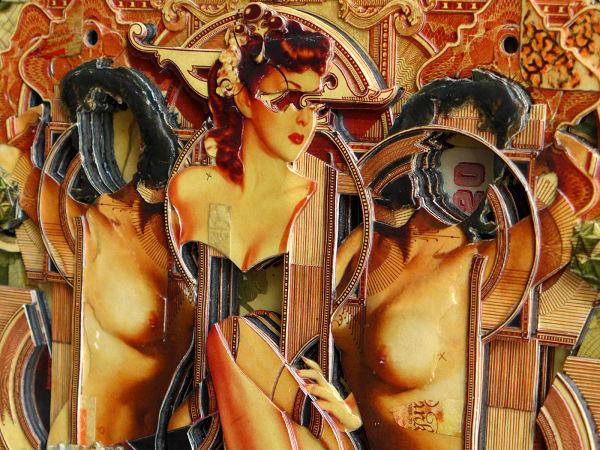 Handiedan collage close-up nude art