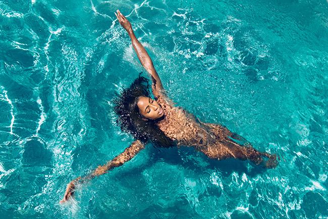 A K Nicholas nude pool photography