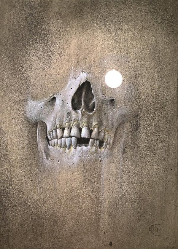 Ego Fragment Skull The Dark Art Emporium