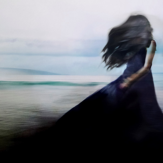 Jacqui Miller black dress photography Stocksy United Photographer
