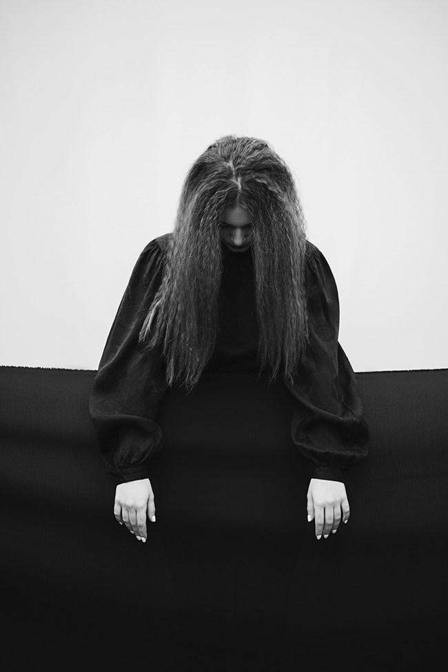 Jovana Rikalo black white portrait Stocksy United Photographer