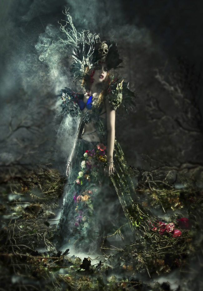 Lorena Cordero AURA Persephone goddess photography