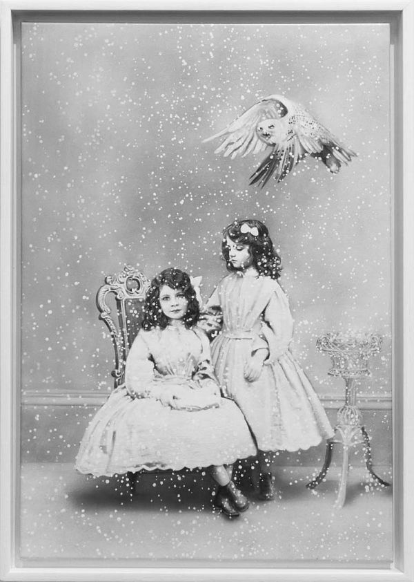 """Zoé Byland """"Sisters and Snowy Owl"""""""