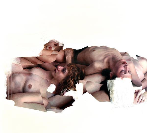Eloy Morales realism nude art bodies painting