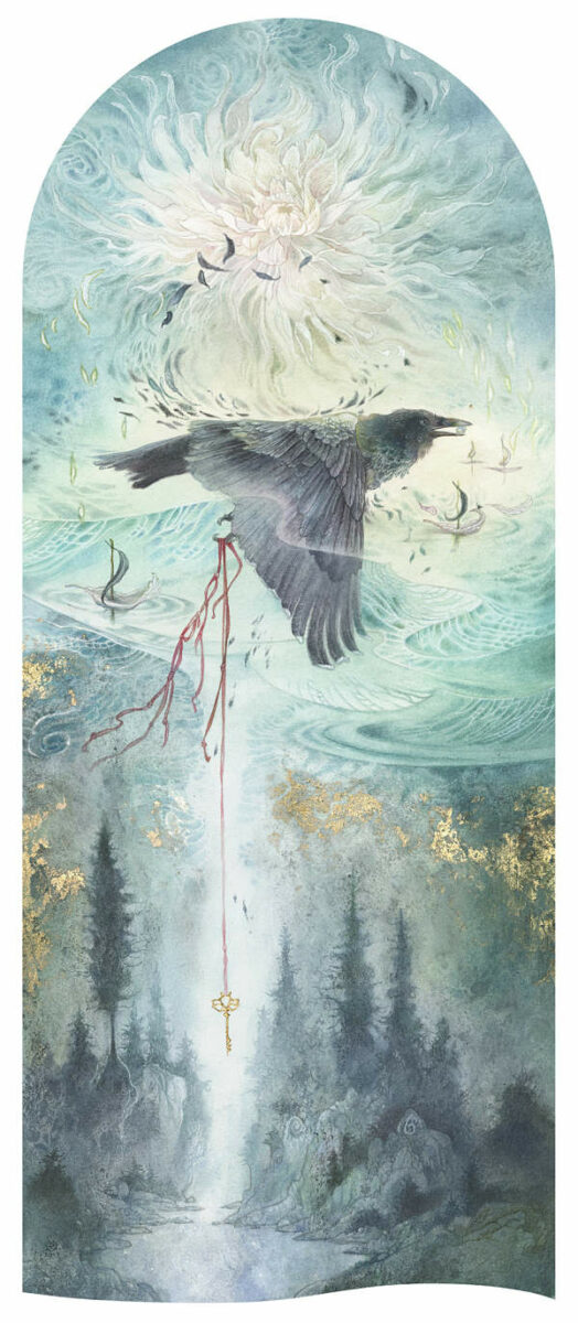 Stephanie Law conjure bird painting