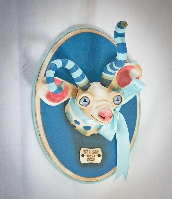 Valency Genis surreal animal hybrid sculpture