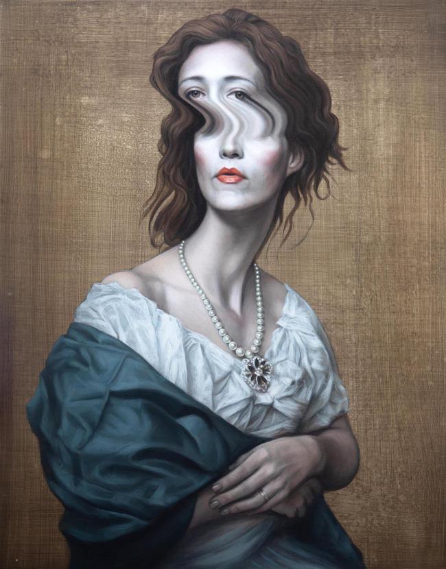 Ben Ashton - Britannia surreal painting