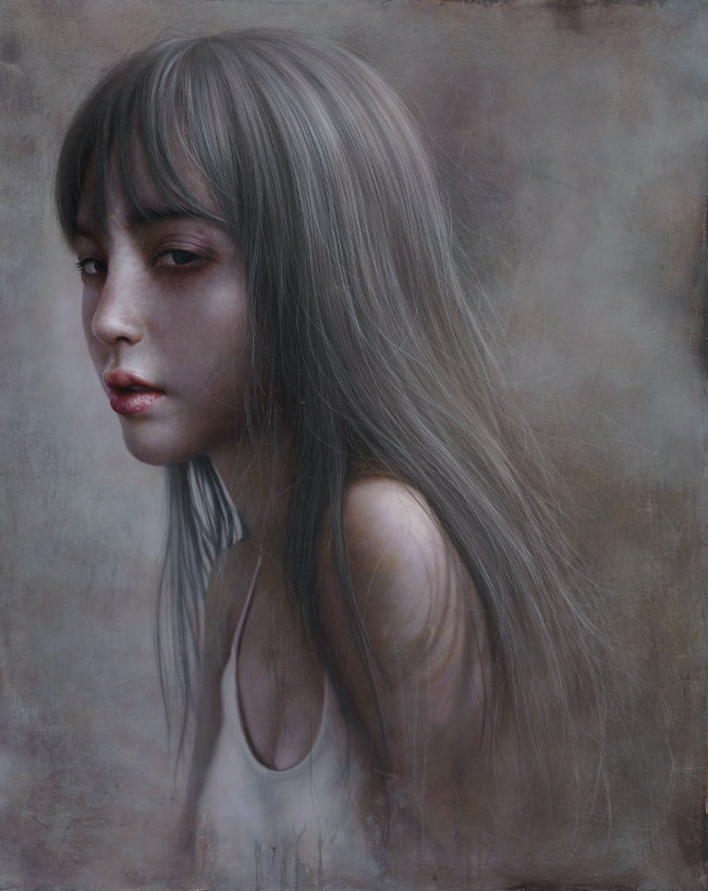 Lo Chan Peng - The Fog surreal painting
