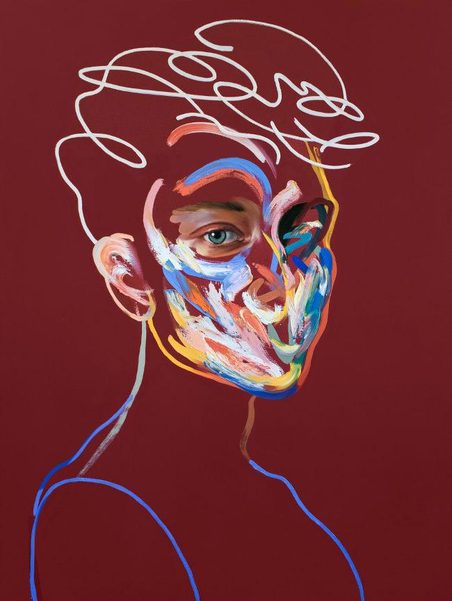 Loribelle Spirovski - Homme 164 abstract painting