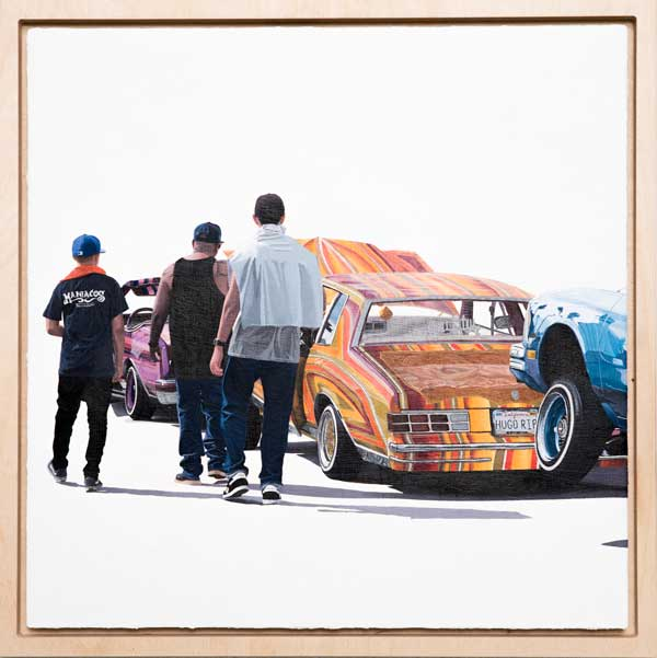 The Perez Bros contemporary car painting