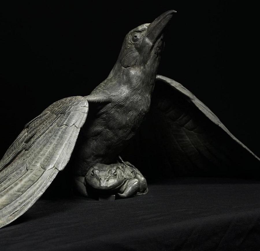 Adam Matano bird sculpture