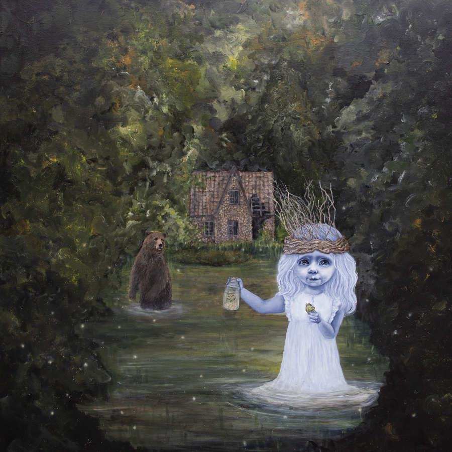 Anne Juul Christophersen bog painting